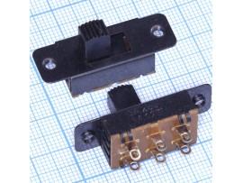 KBB70-2P3W on-off-on переключатель движковый