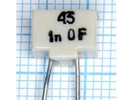 Конденсатор 1000p/50V МПО 1% К10-43а