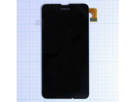 Nokia Lumia 630/630 Dual/635 дисплей + тачскрин черный