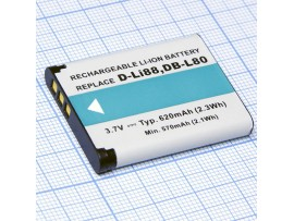 Аккумулятор 3,7V/620mAh Li-Ion D-LI88