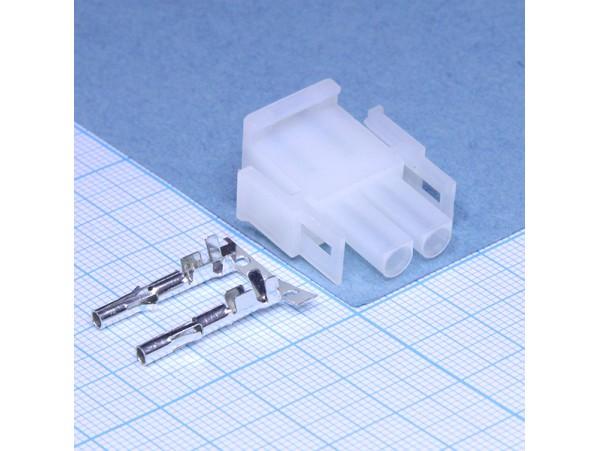 MFT-1x2F розетка на кабель Mini-Fit, шаг 6,35 мм