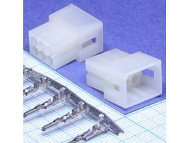 MFD-2x3F вилка 6к. на кабель 3,68мм