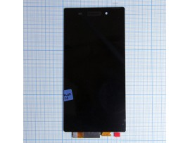 Sony Xperia Z1 дисплей с тачскрином, черный