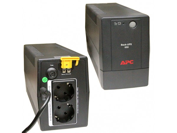 ИБП APC Back-UPS BX650LI-GR, 650VA