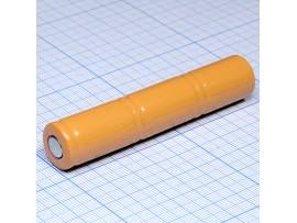 Аккумулятор 3*1,2/1100 mAh  (d=16, h=28)