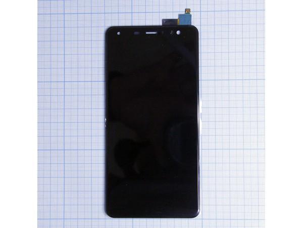 FLY FS517 Cirrus 11 черный дисплей+тачскрин LCD