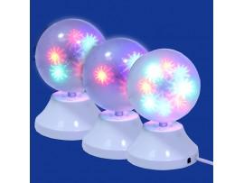 Лампа RGB Шар 3D для световых шоу