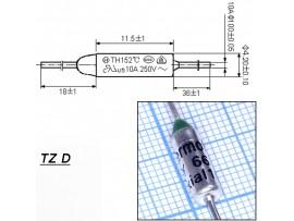 TZ D-066-10А Термопредохранитель