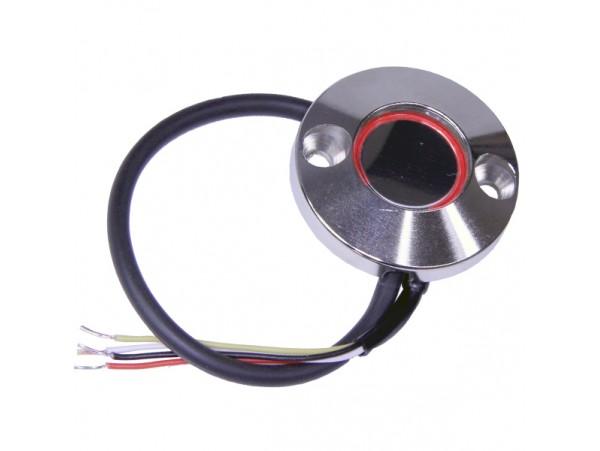 JSB-KTMn-15 (хром) считыватель накладной с подсветкой