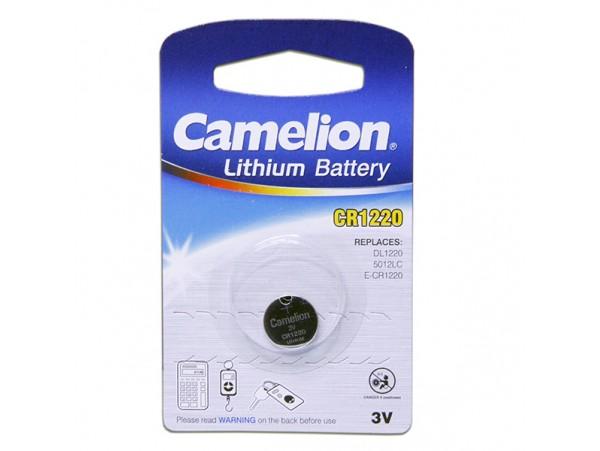 CR1220 Батарея 3V Camelion
