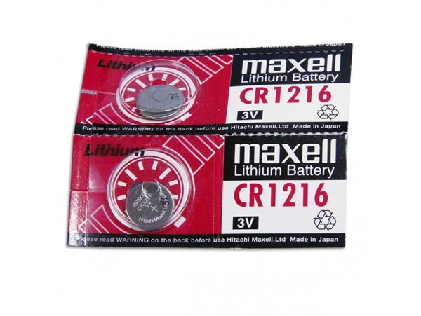 CR1216 Батарея 3V Maxell