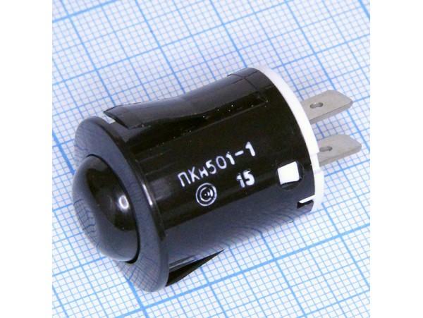 ПКН-501-1 кнопка чёрная