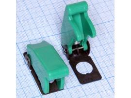 R17-10B защита для тумблера зеленая