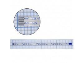 Шлейф 12pin 200x6,5 TRAIN реверсный, шаг 0,5мм