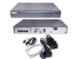 DS-N304P Видеорег. IP 4-х кан.c 4-мя PoE интерфесами