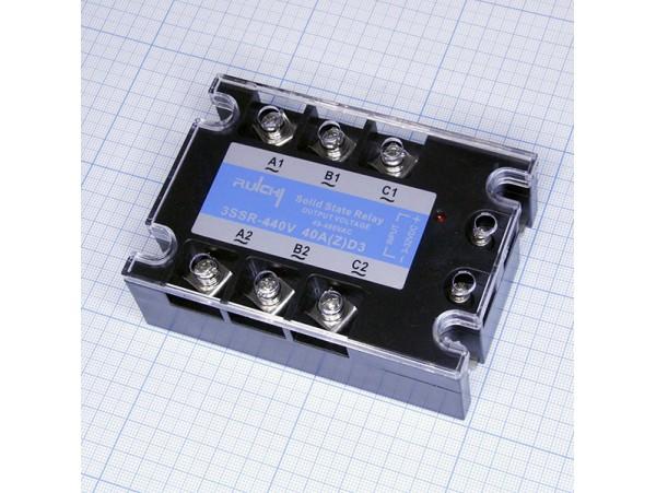 3SSR 440V 40A (Z)D3 (3-32VDC) Реле твердотельное