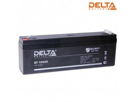 Аккумулятор 12V/2,2Ah DELTA DT 12022 178х34х60