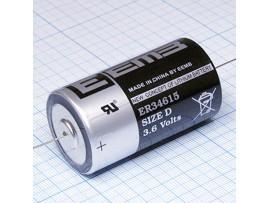 ER34615-AX  батарея 3,6V Lithium D с выводами