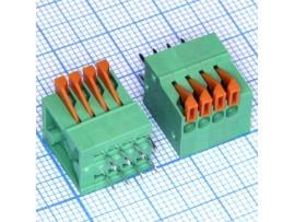 DG141V-2.54-04P-14-00AH клем. 4 конт 2,54мм