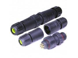 HYF-190 8pin (IP68) разъем на кабель герметичный компл.