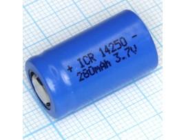 Аккумулятор 3,7V/280 14250 (d=14;L=25) 1/2AA