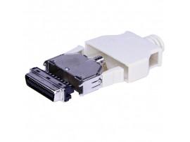 MCR-36 M вилка 36к.на кабель MICRO CENTRONICS