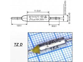 TZ D-095-15А Термопредохранитель