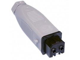 STAK-20 разъем гнездо, кабель PIN2, луженые, IP54, 16А