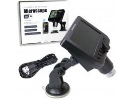 1-600x G600 микроскоп с ЖК-дисплеем 4,3 дюйма HD OLED