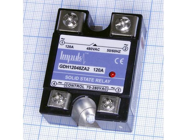 GDH12048ZA2 реле твердотельное 120А/480V (90-250V)