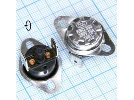 KSD-301-100С 250V10A с кнопкой термостат