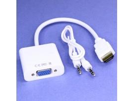 Конвертер HDMI => VGA гнездо