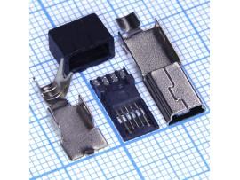 Mini USB Шт.USB/M-SP-1 на кабель 4pin