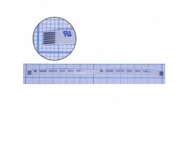 Шлейф 6pin 100x4 прямой, шаг 0,5мм