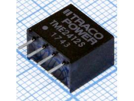 TME2412S Преобр. напряжения (21,6-26,4VDC>12VDC/0,08A)
