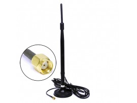 Антенна WiFi 2.4 BY-2400-03 SMA-F 3M