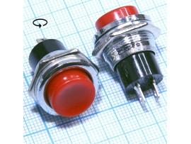 DS-212 Red on-(off) кнопка нормально замкнутая, красная