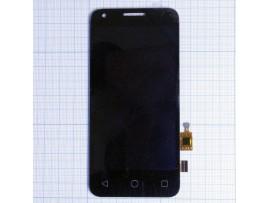 Alcatel OT-4027D тачскрин+дисплей черный