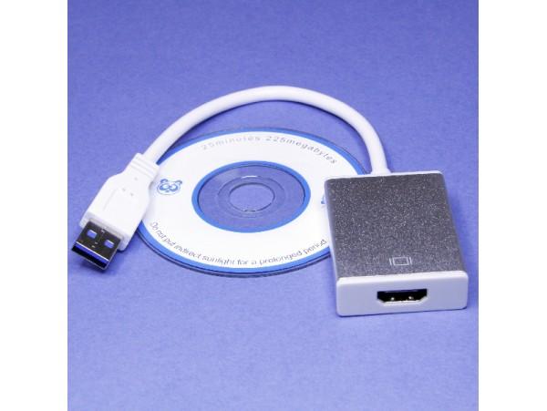 Конвертор USB 3,0-> HDMI