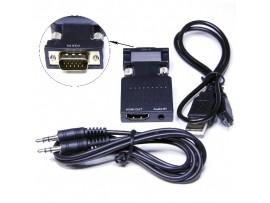 Конвертер VGA => HDMI