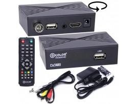 D-COLOR DC600HD ресивер эфирный DVB-T2,HD