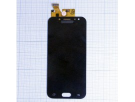 SAM J530F (J5 2017) дисплей LCD+тачскрин черный