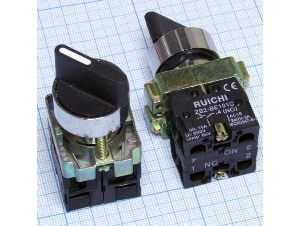 3SA8-BD25 переключатель 2 положения с фикс.ZB2-BE101C