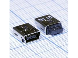 USB mini гнездо на кабель