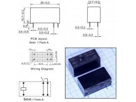 JQX-115F-I/009-1HS3(555) реле 9VDC
