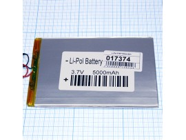 LP3090135-PCB-LD аккумулятор 3,7V/5000mAh Li-Pol