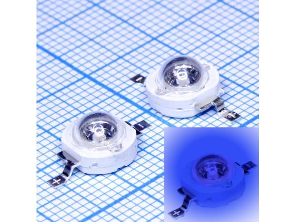 LED CHIP LXHL-B1E синий, 1W, 3,3-3,8V