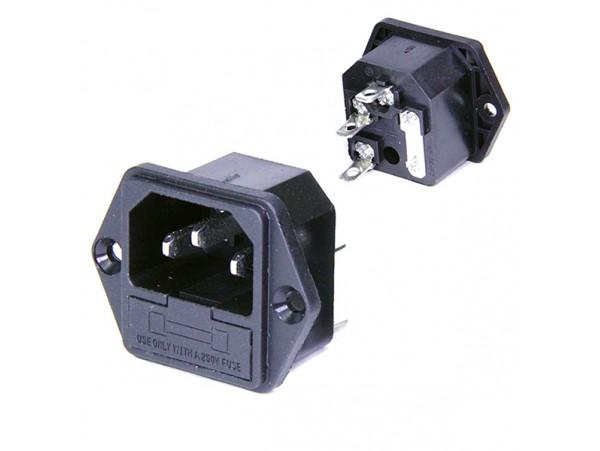 AC-004 разъём с предохр. на прибор под винт