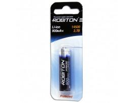 Аккумулятор 3,7V/900 14500 (d=14;L=50) Robiton