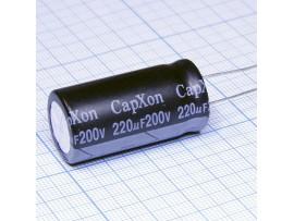 Конд.220/200V 1835 +105C  CapXon